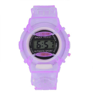 Relogio Feminino Детские студенческие водонепроницаемые цифровые наручные спортивные часы многофункциональные часы-будильник montre enfant 915