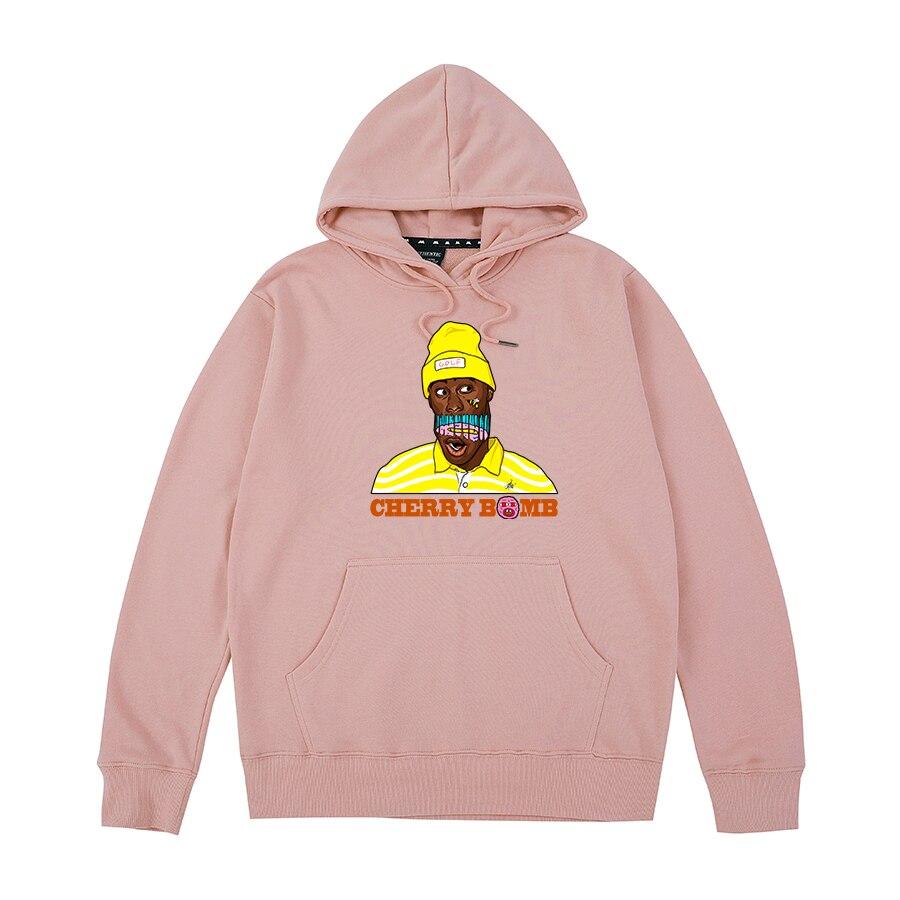 Golf Wang cherry bomb Tyler The Creator OFWGKTA Skate Frank Ocean Harajuku Flower boy Hoodies Sweatshirts men women unisex