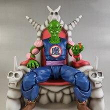 Tronzo الأصلي بانداي تاماشي الأمة لعبة دراغون بول شيطان الملك بيكولو داماوه SHF عمل أرقام بيكولو العرش اكسسوارات اللعب