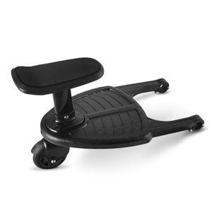 Adaptador de Pedal del cochecito a la moda para niños, remolque auxiliar para niños, gemelos, Scooter Hitchhiker, placa de pie para niños con asiento