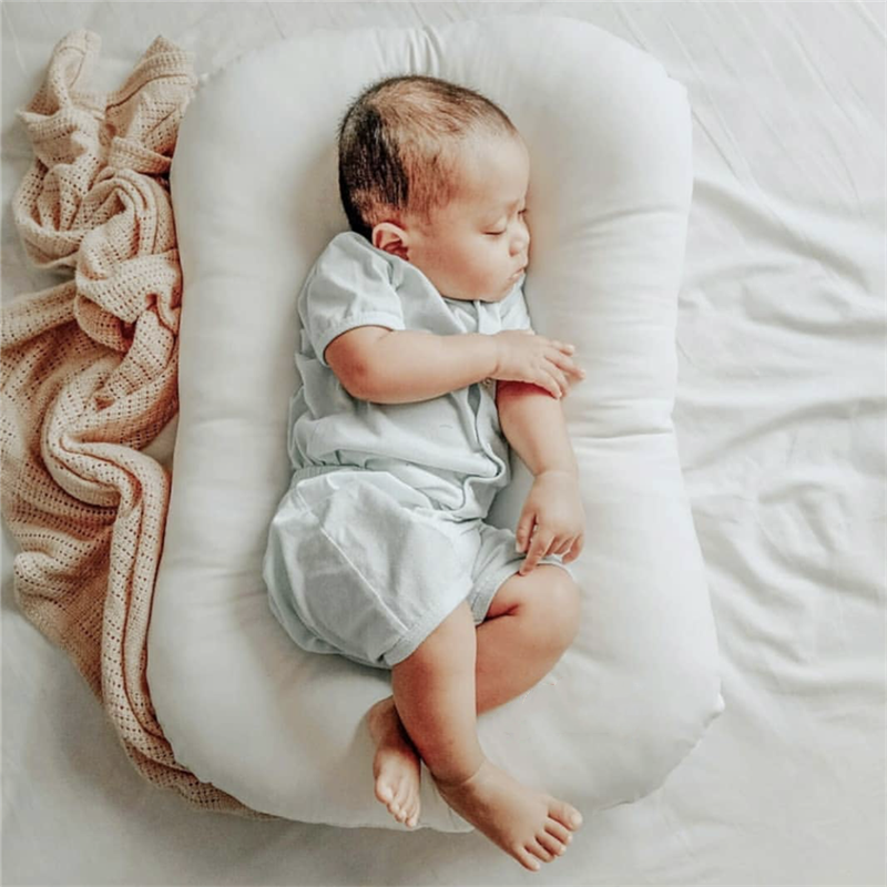 72X42cm Baby Nest Bed Newborns Sleep Bed Infant Cradle Crib Baby Bassinet Bumper Cot