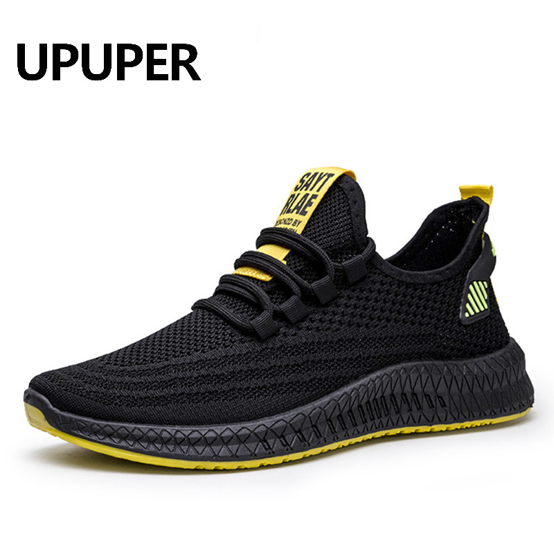UPUPER Sneakers Men Running Shoes Lightweight Breathable Sport Shoes For Men Fashion Mesh Sneakers Male Shoes Zapatos De Mujer