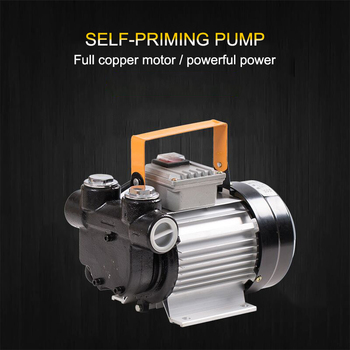 Electric pump large flow high power 220v self-priming diesel pump gasoline tanker