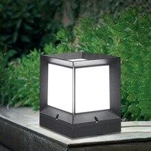 Thrisdar E27 наружный светильник для входной двери, садовый забор, парковый столб, ландшафтные уличные фонари-колонны, тропа, газон, постельные св...