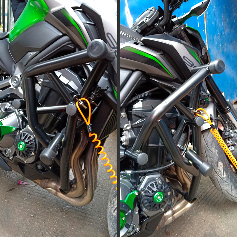 Teng Worship <font><b>Motorcycle</b></font> Engine Bumper Guard Crash Bars Protector Steel For <font><b>KAWASAKI</b></font> z900 Z900 <font><b>Z</b></font> <font><b>900</b></font> 2017-2019 image