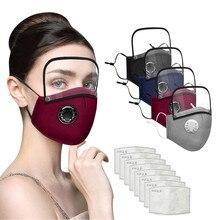 Повязка на голову, эластичный дышащий однотонный шарф, маска на половину лица, бандана, маски с фильтром и съемным козырьком для глаз бандан...