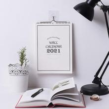 Wall Calendar Plan 2021 Simple Weekly Monthly Planner Organizer Wall Home Calendar Agenda Planner Daily Hanging Office Sche I4Q0