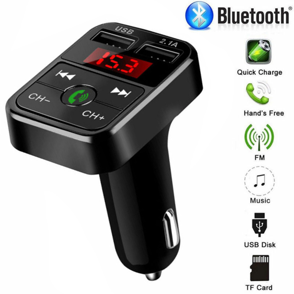 Bluetooth Car FM Transmitter Wireless Radio Adapter USB Charger MP3 Player Brand New And High Quality