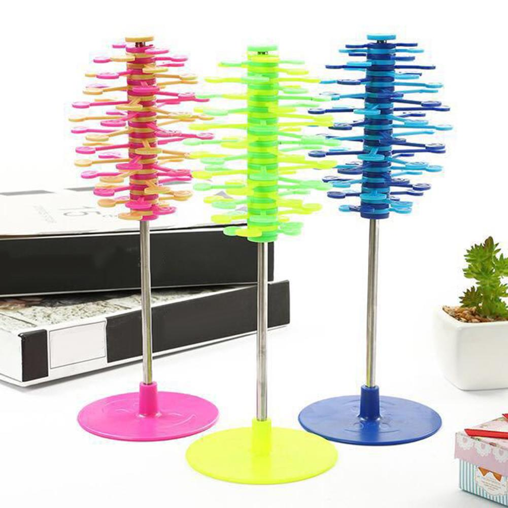 Helicone Lollipop Toy Rotating Wand Stress Relief Home Desktop Ornament Decor Playable Art Decompression Toys Kids Ornament Gift