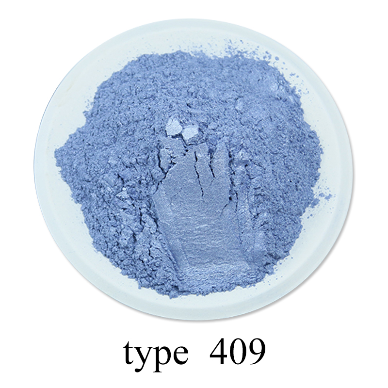 Pearl Powder Acrylic Paint Pigment 50g #409 Purple For Crafts Arts Car Paint Soap Eye Shadow Dye Colorant Mica Powder Pigment