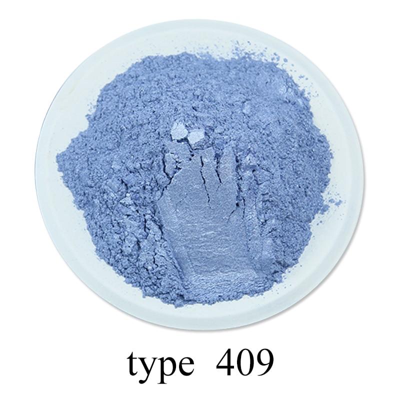 Pearl Powder Acrylic Paint Pigment 50g #409 Purple For Crafts Arts Car Paint Soap Eye Shadow Dye Colorant Mica Powder Pigment