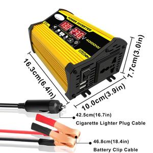 4000W 12V to 220V/110V LED Dis
