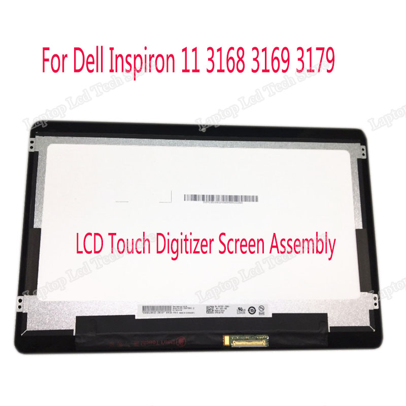 11.6 inch LCD Touch Digitizer Screen Assembly for Dell Inspiron 11 3162 3164 3168 3169 3179 LCD Display 1366*768