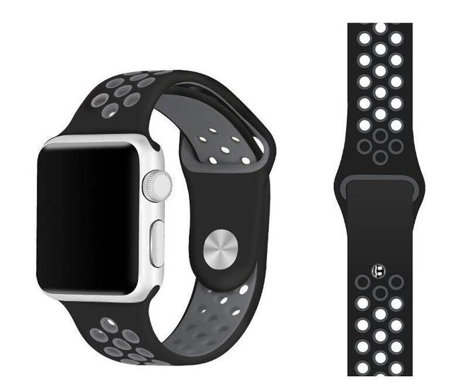 Silicone wristband For Apple Watch band Series 1/2/3/4/5 For iwatch Sports strap Bracelet 38/40/42/44mm | Watchbands