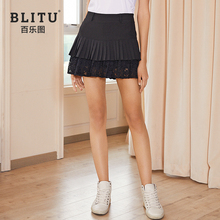 2020 NEW Women's Golf Skirt Lace Pleated Skirt Summer Casual Athletic Sports Short Skirt for Ladies 골프웨어