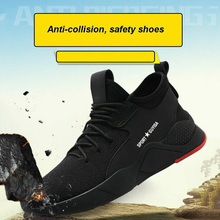 Sneaker Work-Shoes Breathable for Men LDF668 Puncture-Proof Heavy-Duty Anti-Slip Safety