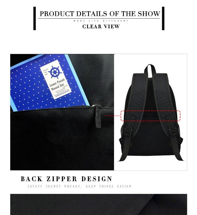 backpack shoulder bag schoolbag daypack bookbag mochila (1)