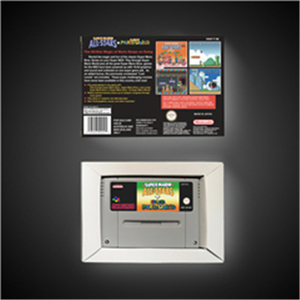 Image 2 - Super Marioed All Stars + Super Marioed World   EUR Version RPG Game Card Battery Save With Retail Box