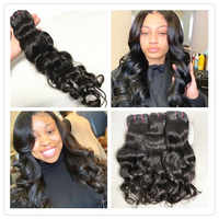 """Mayflower Original Raw Virgin Indian temple hair Natural Wavy Not by steam process Silky Luster Soft Bouncy wavy 12""""-28"""""""