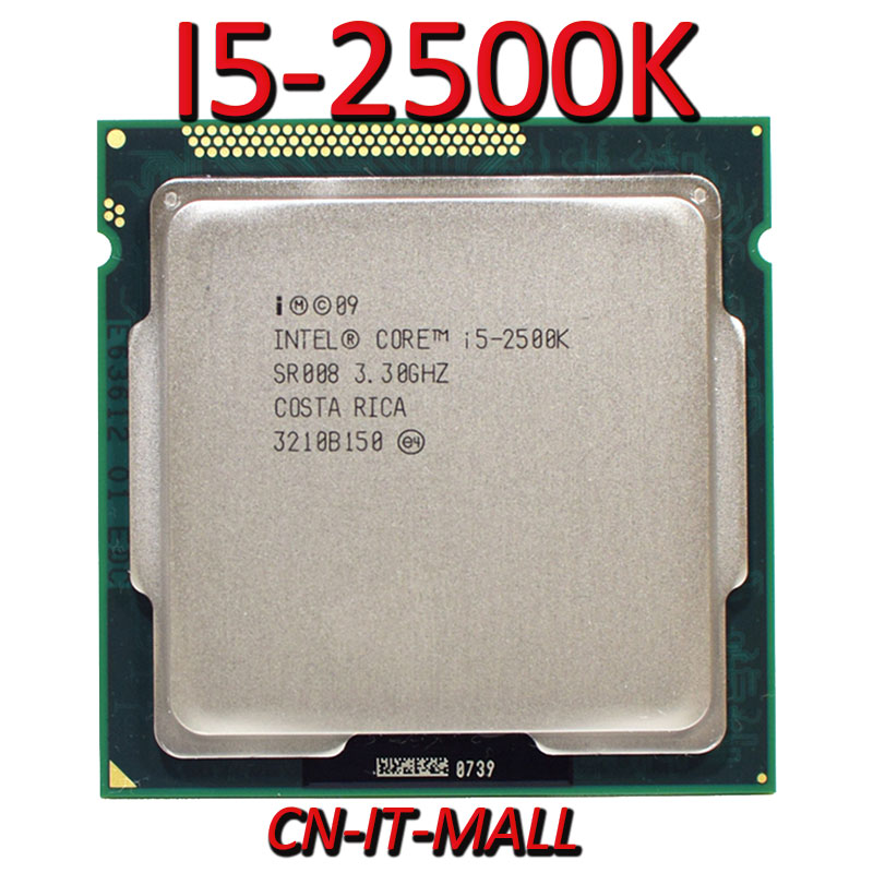Pulled <font><b>I5</b></font>-<font><b>2500K</b></font> 3.3G 6M 4 Core 4 Thread LGA1155 Processor image