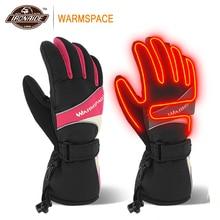 WARMSPACE, 55 градусов, мотоциклетные перчатки, перчатки с подогревом, на батарейках, мотоциклетные перчатки, контроль температуры, перезаряжаемый, Gant