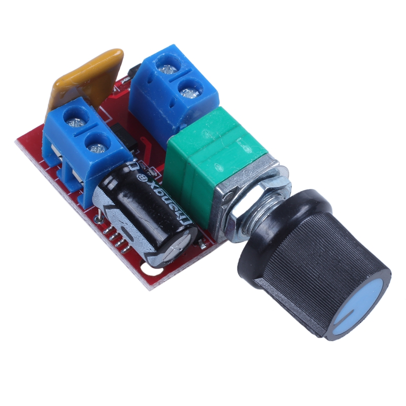 Mini DC Motor PWM Speed Controller 3V 6V 12V 24V 35VDC 90W 5a DC Motor Speed Control Switch LED Dimmer