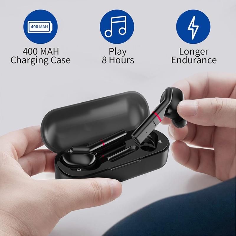 Image 3 - TWS Wireless Bluetooth 5.0 Earphone Sport Sweatproof Headphone Stereo Portable Earbuds HIFI Top Sound Quality PK T3 I12 I10 I200Phone Earphones & Headphones   -