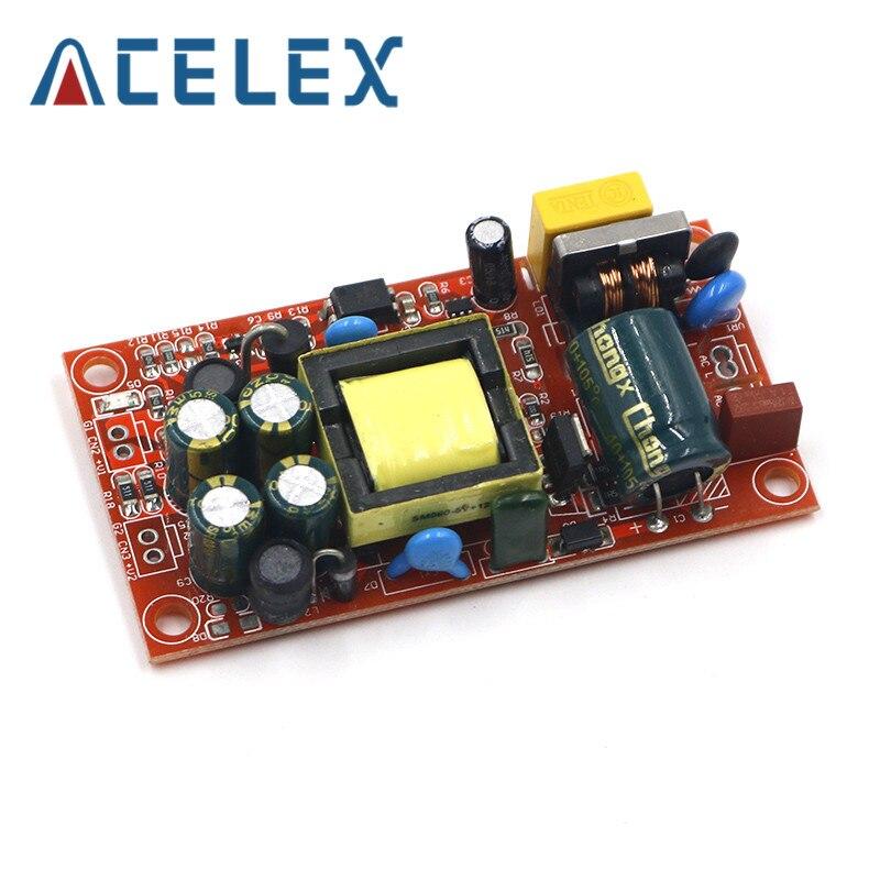 12V1A/5V1A module dalimentation à découpage entièrement isolé/220V tourner 12v 5v double sortie/module de AC-DC