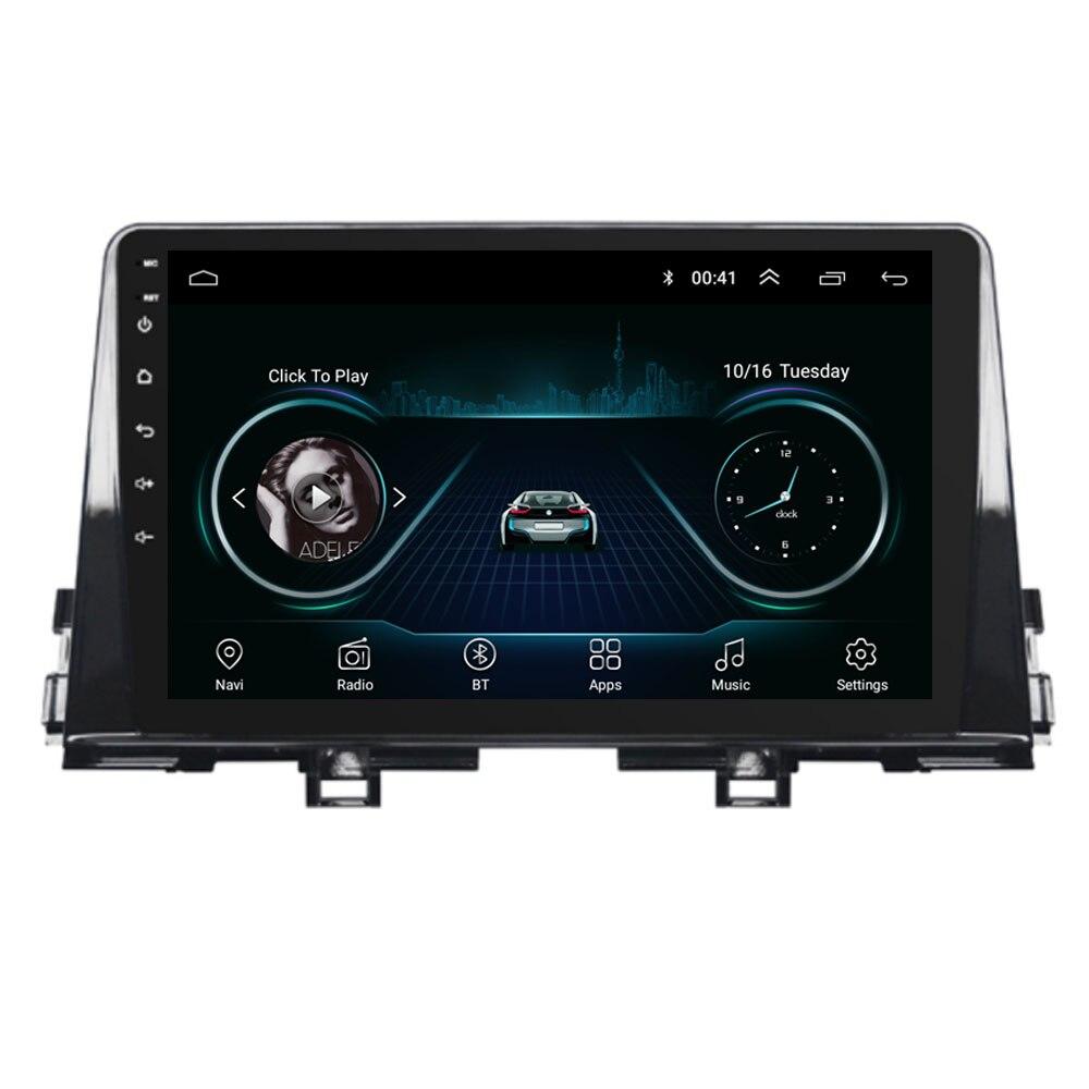9 4G LTE Android 8,1 для KIA PICANTO Morning 2016 2017 2018 2019 Мультимедиа стерео автомобильный dvd плеер навигация gps радио