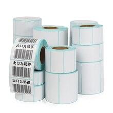 Label Sticker Paper Adhesive Print-Supplies Blank-Barcode Direct-Print Waterproof Supermarket-Price