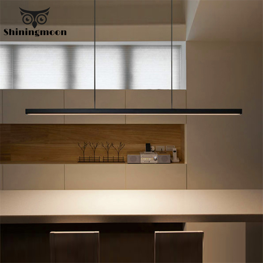 Moderne Kunst LOFT Holz FÜHRTE Anhänger Licht Beleuchtung Nordic Minimalistischen Aluminium Anhänger Lampe Restaurant Studie Schlafzimmer Decor Luminarie
