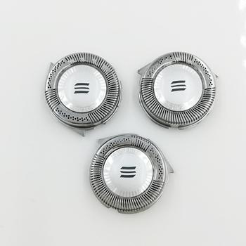 3 sztuk HQ8 w celu uzyskania żyletka do Philips maszynka do golenia HQ7141 HQ7390 HQ7714 HQ7142 HQ7143 HQ7360 HQ7390 HQ8894 HQ7300 HQ6075 PT880 tanie i dobre opinie LEZHISNUG Elektryczne maszynki do golenia