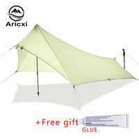 20d Silicone Coating Nylon Ultra Light Rain Fly Tent Tarp, Waterproof  Camping Shelter Canopy Rainfly, Lightweight tarp