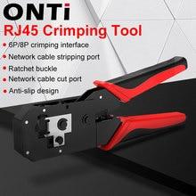 Cutter Crimper RJ12 RJ45 Stripper-Plier Network Lan-Cable RJ11 Modular 8P And 6P Onti