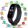 M5 Смарт Браслет сердечного ритма крови Давление здоровья Водонепроницаемый умные часы M5 Bluetooth часы-браслет для занятий спортом