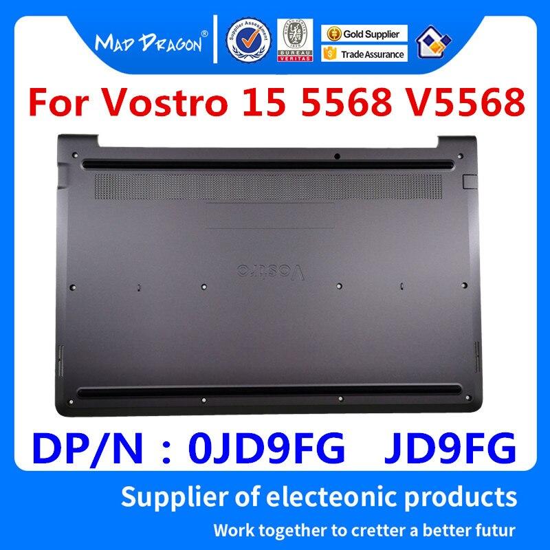 MAD DRAGON marque ordinateur portable nouvelle Base inférieure couvercle inférieur assemblée pour Dell Vostro 15 5568 V5568 v5568 0JD9FG JD9FG couverture inférieure gris