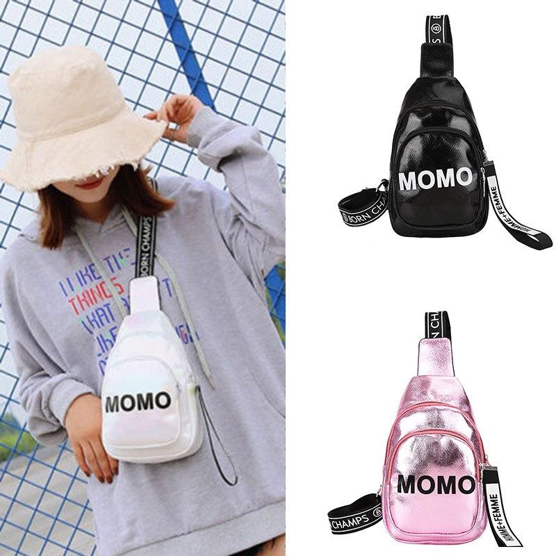 Ladies Chest Bag Mini Women Men Waist Bag Fashion Fanny Pack Zipper Phone Money Waist Packs Letter Shoulder Belt Bag Clutch 2019