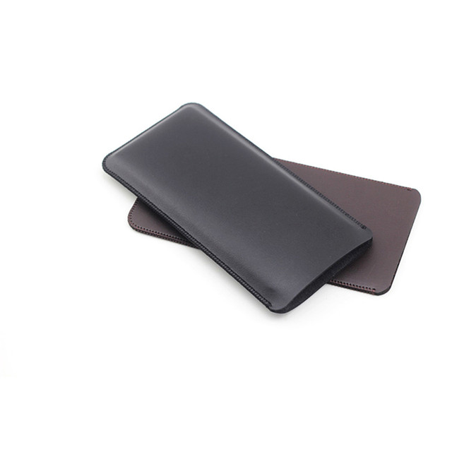 Phone Pouch Ultra Thin Protective Case Microfiber Leather Bag for Samsung Galaxy Fold Phone Accessories