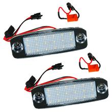 2Pcs Car LED Number License Plate Lights for Kia Sportage 2011~ For SONATA 10 10~13 YF 10MY 2010~2013 GF