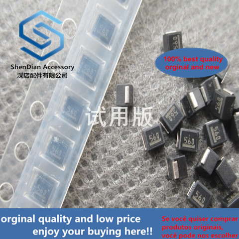 50pcs 100% Orginal New 2520 1008 SMD Inductor NLV25T-560J-PF 2520 56UH ± 5% 75MA