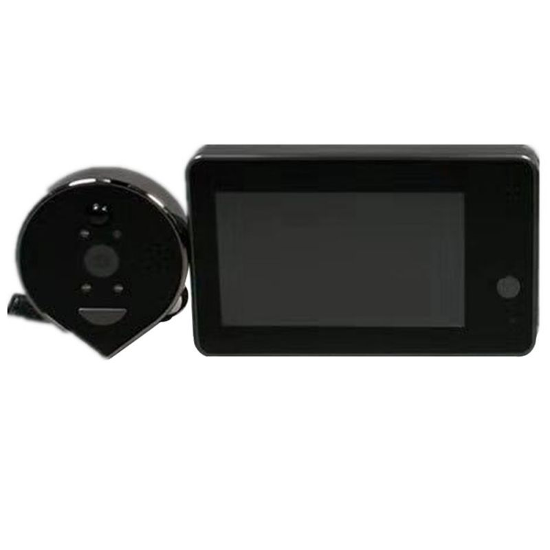 Hot Digital Door Viewer 4.3inch Screen Monitor 160 Degree Home Security Camera Theftproof Peephole Cam