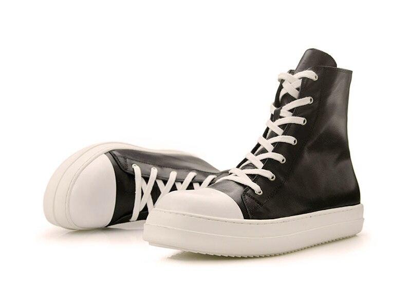 dos homens sapatos casuais rendas até dedo