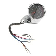 Двойной мотоцикл одометр спидометр светодиодный сигнальный светильник лампа