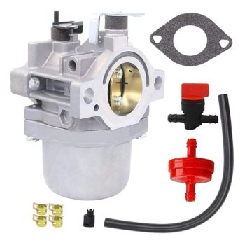 799728 Carburetor Kit with Filter Gasket Fits for Briggs & Stratton LMT-165 LMT-166 LMT-162 12.5HP Engines Replace carburetor fits engines replacement parts for briggs stratton 498298 495426 accessories