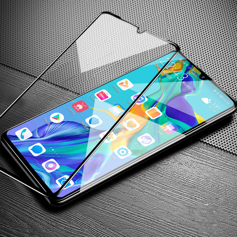 200D Tempered Glass On Honor 8S Screen Protector For Huawei Honor 8X 8C 8A 8 Lite Y7 Pro Y5 Y9 Prime 2019 9H HD Protective Film