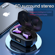 G01-1 TWS Touch Control Binaural 5.0 Bluetooth Earphone IPX6 Waterproof Stereo HiFi Sound Noise Cancelling Wireless Earbuds