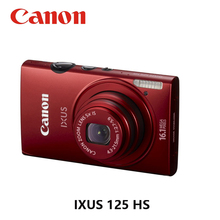 USED CANON 16.1MP 12x Digital Compact Cameras IXUS 125 HS IS