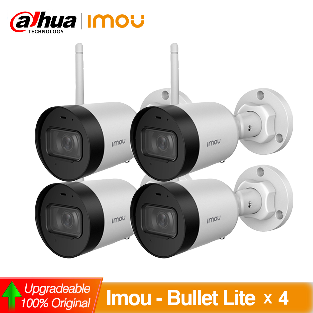 <font><b>Dahua</b></font> IMOU IPC-G22 IPC-G42 4pcs/lot Bullet Lite <font><b>2MP</b></font> 4MP Wifi <font><b>Camera</b></font> H.265 <font><b>Camera</b></font> Cloud Sd Card Storage Built-in MIC IP67 image
