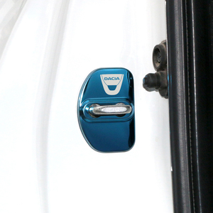 Image 5 - تصفيف السيارة غطاء قفل باب السيارة شعار السيارات الحال بالنسبة داسيا سانديرو MK2 Stepway 2017 اكسسوارات السيارات التصميم 4 قطعة