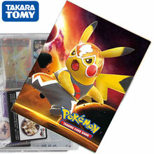 TAKARA TOMY New Pokemon Cards Album Book 80/240PCS Cartoon Anime Game Card VMAX GX EX Holder Collection Folder Kid Cool Toy Gift